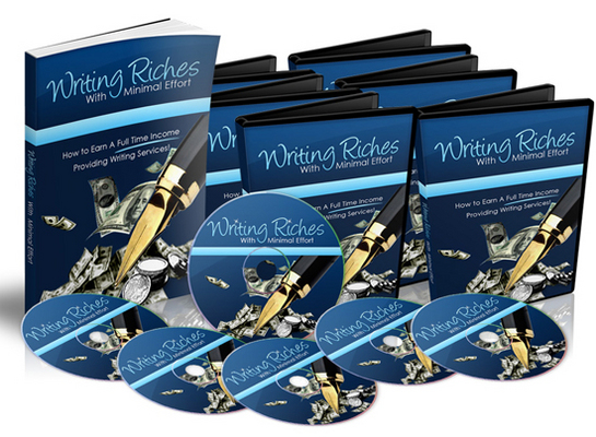 Product picture Writing Riches With Minimal Effort with MRR